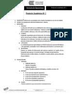 Gerencia de Operaciones Producto Academico