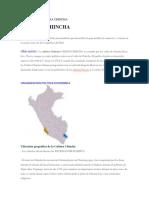 Página principalCULTURA CHINCHA