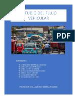 El Estudio de Tráfico Vehicular