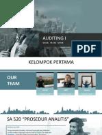 Kelompok I_Auditing SA 520, 530, 540