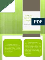Lloyd Ad Analysis