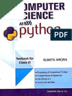 Sumita Arora Class Xi Computer Science With Python PDF