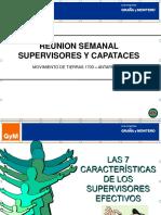 Reunión de Supervisores y Capataces 05-05-11