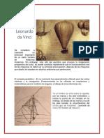 5 Inventos de Leonardo Da Vinci