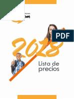 Lista Precios 2017