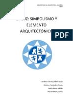 LA LUZ SIMBOLISMO Y ELEMENTO ARQUITECTÓNICO