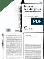 Jóvenes de Vidas Grises - Ana María Fernández