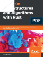 Data structures and algorithms with rust