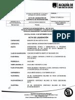 Acta 10 de Liquidacion