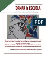 Proyecto Transformar La Escuela-Arg2011
