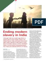 Ending modern slavery in India