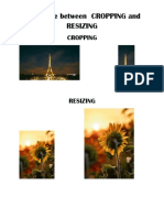 Difference between  CROPPING and RESIZING.docx