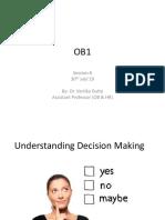 OB1 Session 6