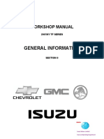 Workshop Manual Isuzu2007