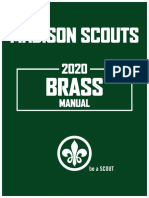 Madison Scouts Brass Auditions - 2020