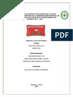 Servicio Publico - Informe