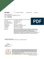 Moissanite SGS Report