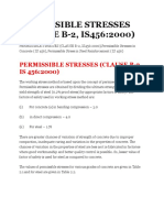 Permissible Stresses in Concrete and Steel.docx