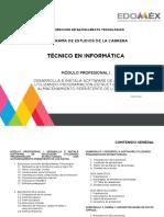 MODULO TECNICO EN INFORMATICA CBT