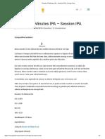 Receita 15 Minutes IPA - Session IPA _ Cerveja Fácil