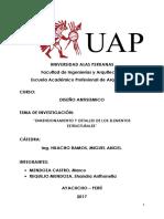Monografia Dimensionamiento y Detalles de Los Elementos Estructurales