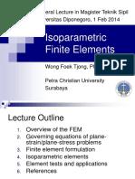 Isoprametric Element