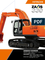 Hitachi Zx330 3 Series Hydraulic Excavator