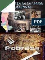 la pobreza en la región de amazonas