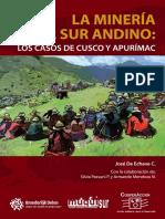 00040 La Mineria en El Sur Andino Cusco y Apurimac