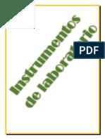 Etimologías de Los Materiales de Laboratorio