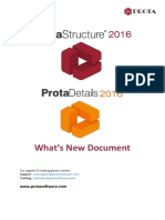 ProtaStructure Suite 2016 Whats New