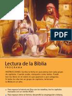 lectura de la biblia