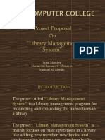 Project Proposal Library Management