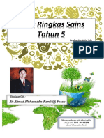 Nota Ringkas Sains Tahun 5 Unit 1-5 by Pocats