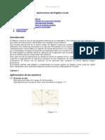 Aplicaciones Algebra Lineal