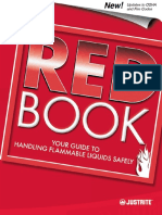 Justrite Handling Flammable Liquids Instruction Sheet