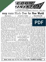 Km E 1960 - Kingdom Ministry