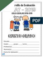 SISAT 2019 quinto grado.pdf