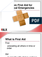 Basic First Aid