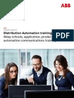2019 Distirbution Automation Training US 1VAD3801-TA Rev Z