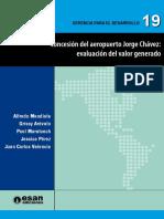 Concesion aeropuerto Jorge Chavez
