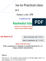 XI Labwork 12CT