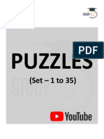 Puzzle(Set 1to35)