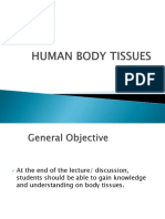Human Body Tissues Power Point
