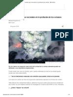 Los Volcanes Que Se Esconden en Lo Profundo de Los Océanos - BBC Mundo