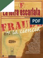 La Letra Escarlata Fraudes en La Ciencia