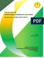 Pedoman PKL Dan Skripsi 2019 (Revisi Senat)