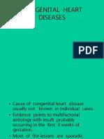Congenital Heart Diseases Lecture for Mls