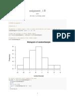 Econometrics assignment