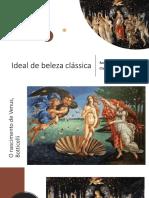 Classicismo - Aula para primeiro ano